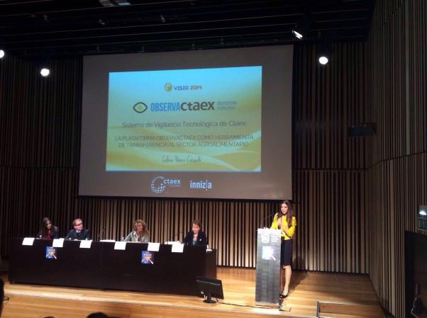Presentada la Plataforma de Vigilancia Tecnológica de CTAEX en Visio