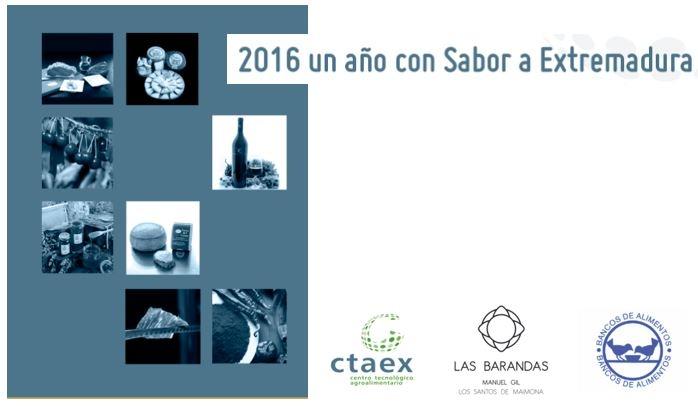 Presentación del Calendario Solidario de los Alimentos de Calidad Diferenciada de Extremadura