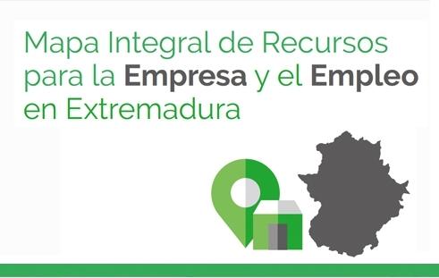 Mapa Integral de Recursos para la Empresa y el Empleo en Extremadura
