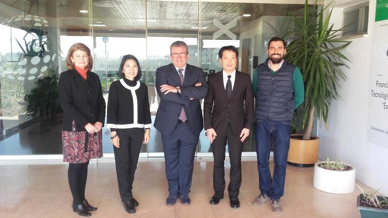 Visita de la Real Embajadora de Tailandia a CTAEX
