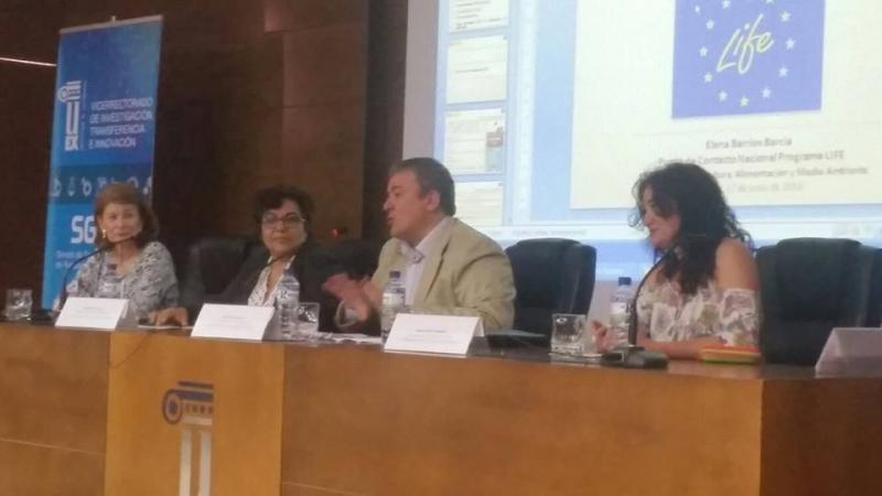 Jornada Informativa sobre el Programa LIFE de la Unión Europea en Badajoz