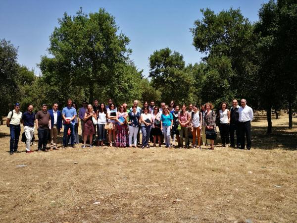 Los socios del proyecto transfronterizo PRODEHESA-MONTADO celebran en Mérida la reunión de lanzamiento