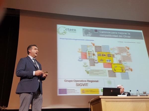 Alfonso Montaño analiza en Agroexpo la cadena de valor de los Aceites de Oliva como cultivo emergente a nivel mundial