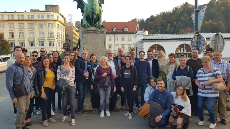 Proyecto eNEET RURAL, tercer encuentro de socios en Eslovenia