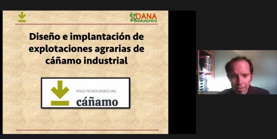 El Polo Tecnológico del Cáñamo organiza la I webinar en torno al sector