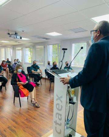 CTAEX, junto con la Delegación del Gobierno en Extremadura, organiza unas jornadas informativas sobre el cultivo del cáñamo para uso industrial para Fuerzas y Cuerpos de seguridad del Estado