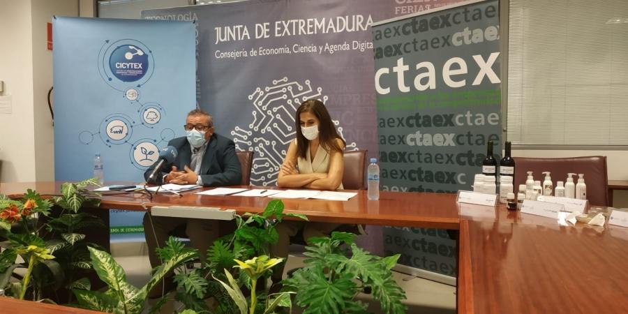 CTAEX y CICYTEX firman un convenio de colaboración para dinamizar la I+D en el sector agroalimentario