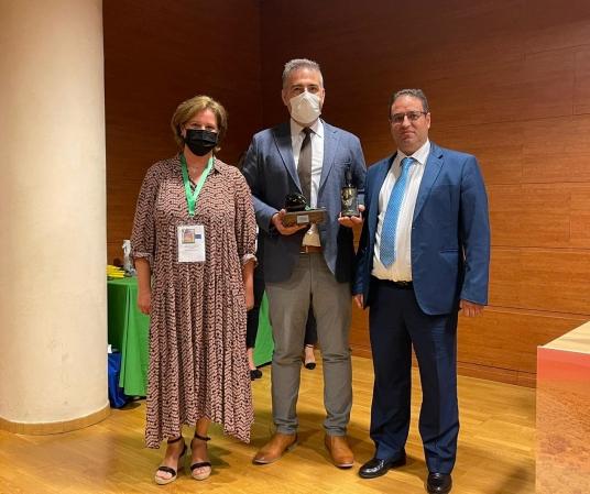 AEMODA otorga a CTAEX un reconocimiento por su labor en el sector del aceite de oliva