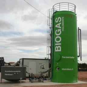 Prototipo industrial del pre-tratamiento de residuos
