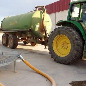 Desmontaje y traslado módulo producción biogás 2