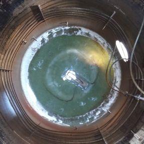 Desmontaje y traslado módulo producción biogás 4