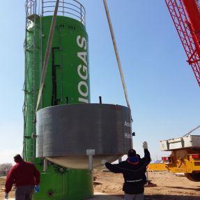 Desmontaje y traslado módulo producción biogás 5