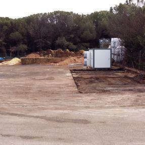 Montaje del módulo de producción de biogás en Burgos 1