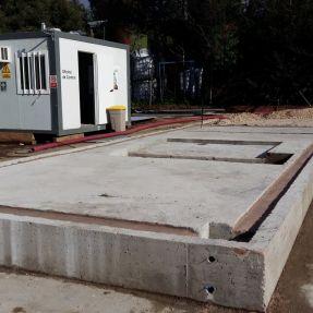 Montaje del módulo de producción de biogás en Burgos 4