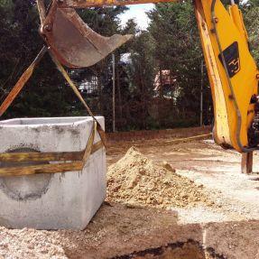 Montaje del módulo de producción de biogás en Burgos 6
