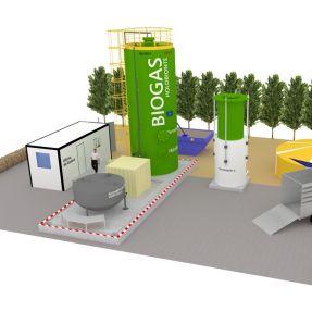 módulo producción biogás en Burgos