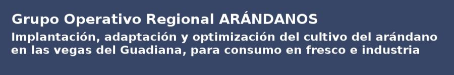 Grupo Operativo Regional - ARANDANOS